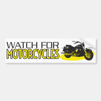 Motorcycle Bumper Stickers - Car Stickers | Zazzle