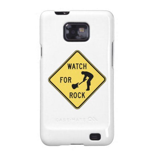 WATCH FOR ROCK- rock and roll/music/indie/metal Galaxy S2 Cases