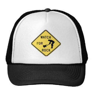WATCH FOR ROCK- rock and roll music indie metal Hat