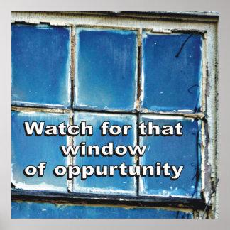 Window of opportunity art framed artwork zazzle for Window of opportunity