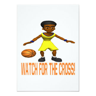 Watch For The Cross Card