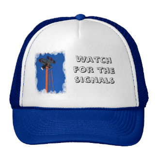 Watch for the signals mesh hats