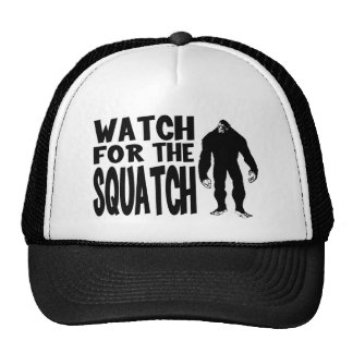 Watch for the SQUATCH Trucker Hat