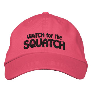 Watch for the Squatch -  Squatcher Embroidered Hat