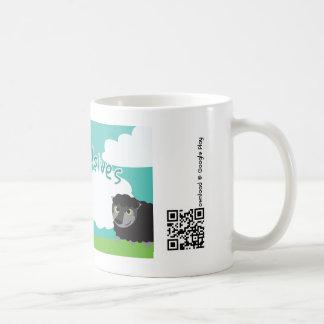 Watch for Wolves Mug -White