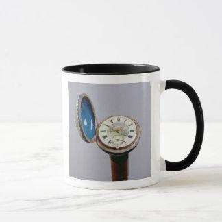 Watch gadget cane (cloisonne enamel) mug