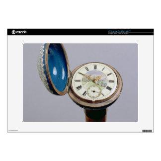 Watch gadget cane (cloisonne enamel) skins for laptops