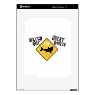 Watch Great Whites iPad 2 Decal