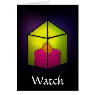 WATCH GREETING CARD