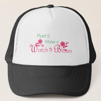 Watch it Bloom - Gardening and Flowers Trucker Hat