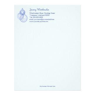 Watch maker or repairer's business letterhead