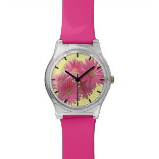 Watch - May28th - Dark Pink Gerbera Daisies
