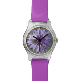 Watch - May28th - Lilac/Purple Bachelor's Button