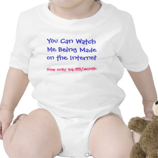 Watch me being made tshirt