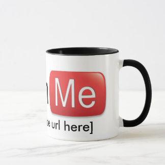 Watch Me on YouTube (Basic) Mug