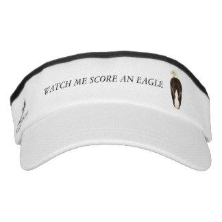 Watch Me Scor An Eagle Headsweats Visor