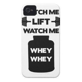 Watch Me Whey Whey Case-Mate iPhone 4 Case
