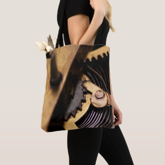 Watch Mechanics Abstract Tote Bag