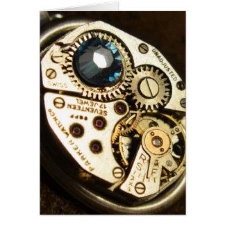 watch movement card