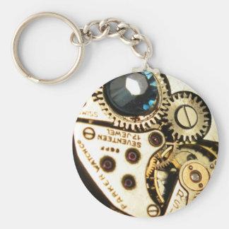 watch movement keychain