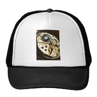 watch movement mesh hats
