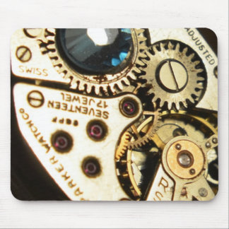 watch movement mouse pad