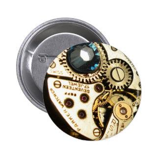 watch movement pinback button