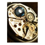 watch movement post card
