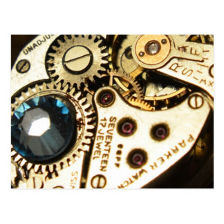 watch movement post cards