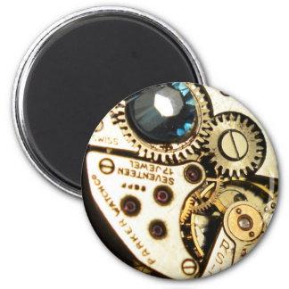 watch movement refrigerator magnet