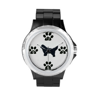 Watch ~ Newfoundland Dog Silhouette