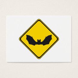 Watch Out: Bats! Business Card