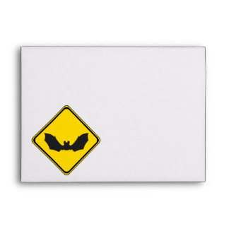Watch Out: Bats! Envelope