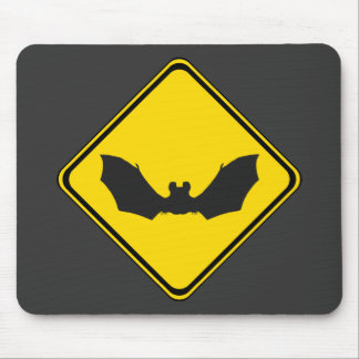 Watch Out: Bats! Mouse Pad