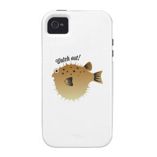 Watch Out iPhone 4/4S Cover