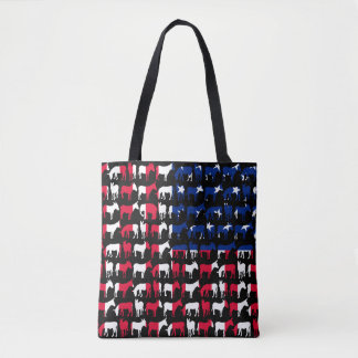 Watch out for an elephant tote bag