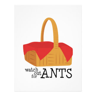 Watch Out For Ants Custom Letterhead