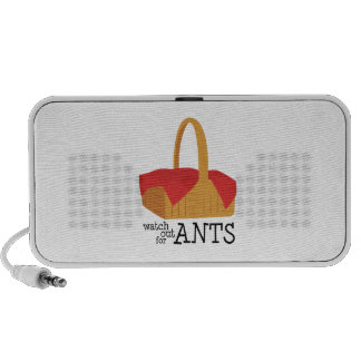 Watch Out For Ants Speakers