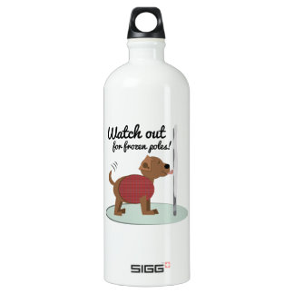 Watch Out For Frozen Poles SIGG Traveler 1.0L Water Bottle