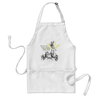 Watch Out, Here Comes Thor! Adult Apron
