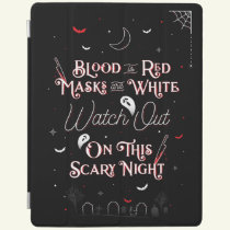 Watch Out On This Scary Night iPad Cover Case