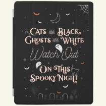 Watch Out On This Spooky Night iPad Cover Case