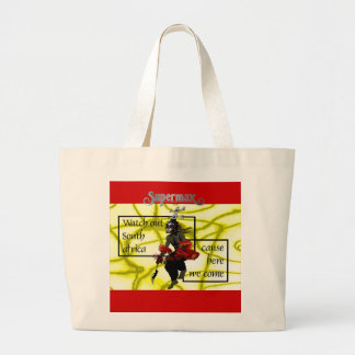 Watch out South Africa Large Tote Bag