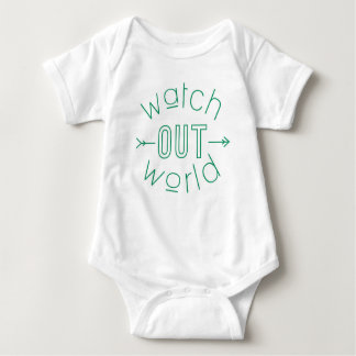 Watch Out World Baby Bodysuit