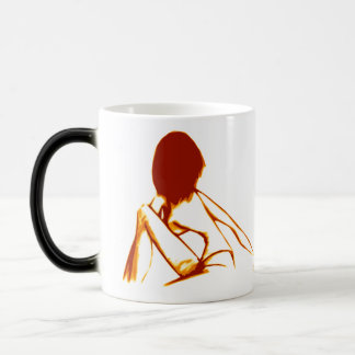 Watch Over 11 Oz Magic Heat Color-Changing Coffee Mug