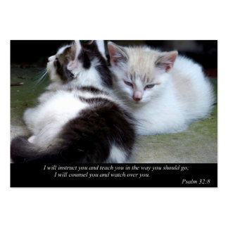 Watch Over You (Cat) Business or Calling Cards Large Business Cards (Pack Of 100)