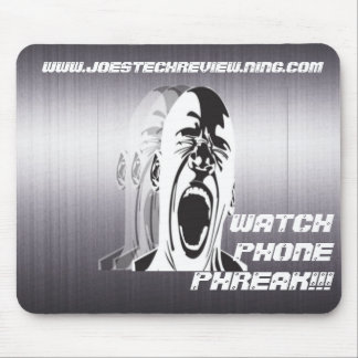 WATCH PHONE PHREAK Mousepad