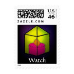 WATCH POSTAGE STAMP