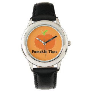 Watch Pumpkin Time Orange Green Black