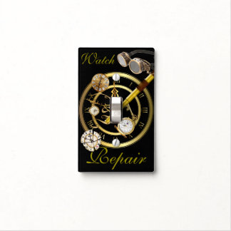 Watch Repair 3 Light Switch Cover